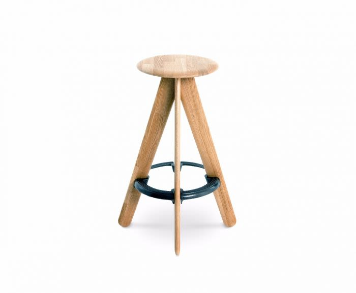 Slab Bar Stool by Tom Dixon
