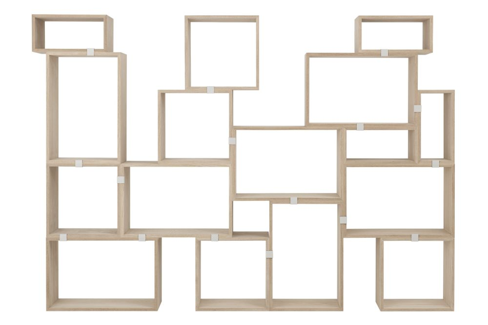 Stacked Storage System 2.0 - Configuration 10 by Muuto