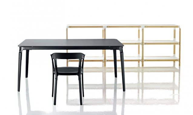 Steelwood Table - Square by Magis Design