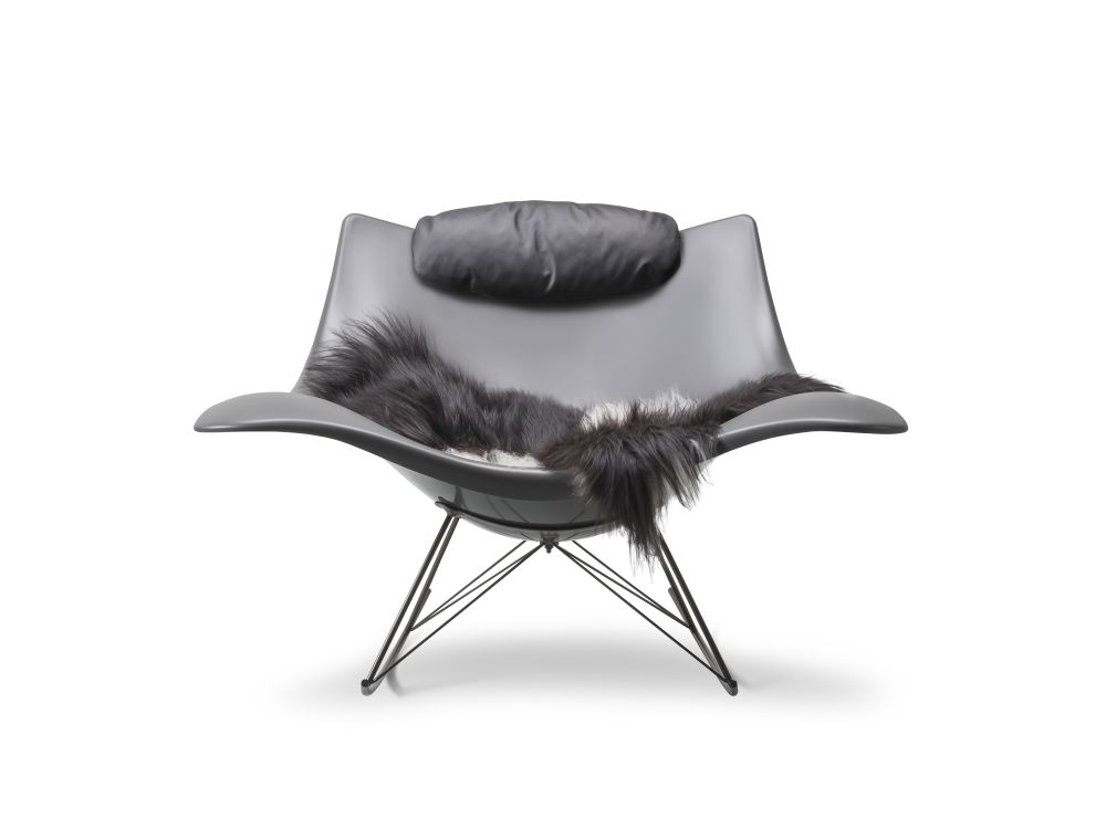 Stingray rocking chair by Fredericia