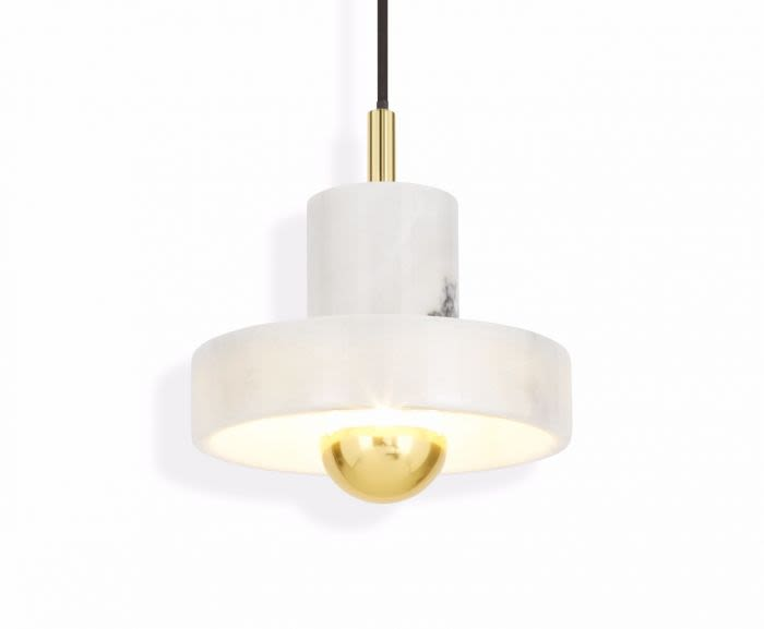 Stone Pendant Light by Tom Dixon