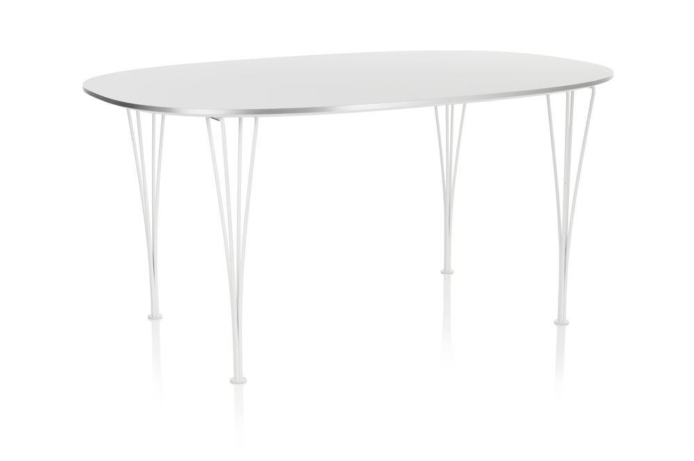 Super-elliptical Dining Table by Republic of Fritz Hansen
