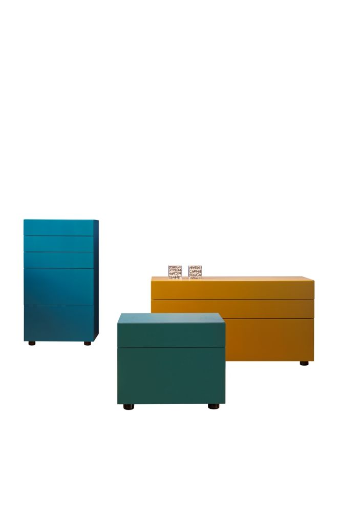 Swift Chest of 3 Drawers by Cappellini