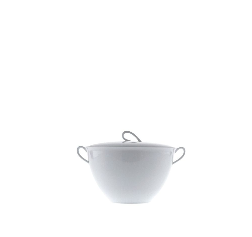 The White Snow - Soup Tureen with Lid by Driade