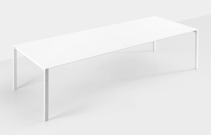 Thin-K Glass Fixed Table by Kristalia