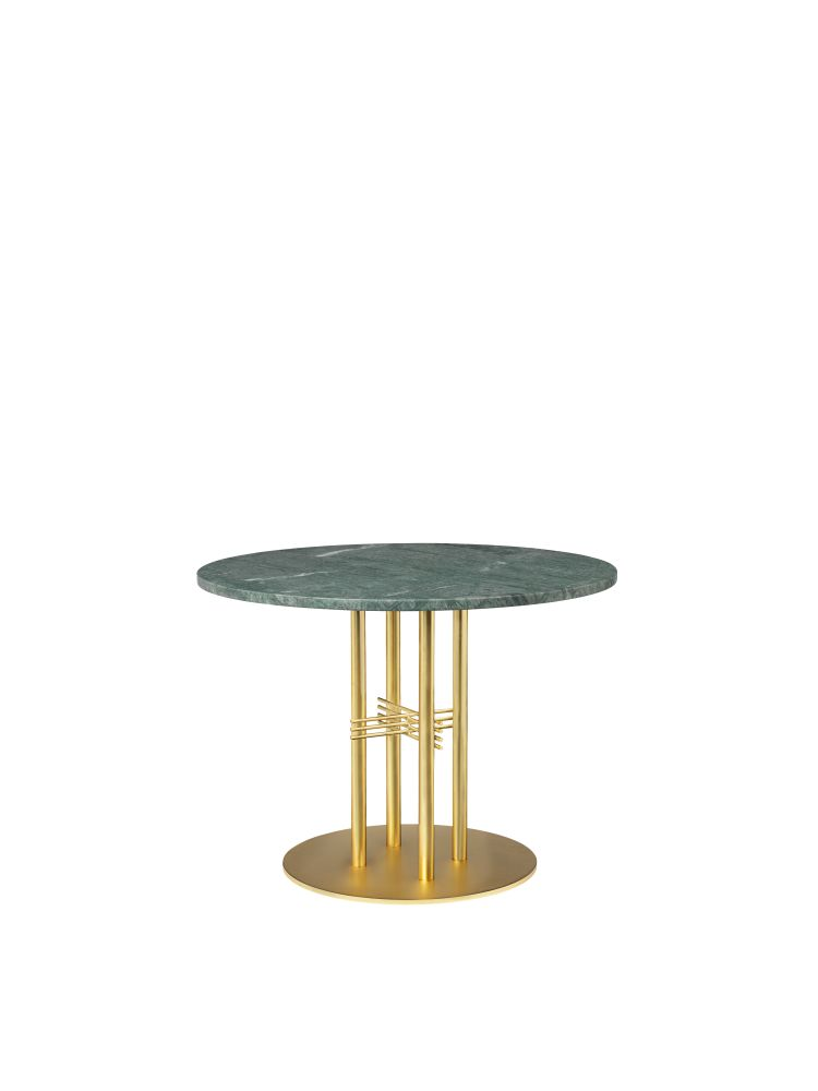 TS Column Lounge Table Marble by Gubi