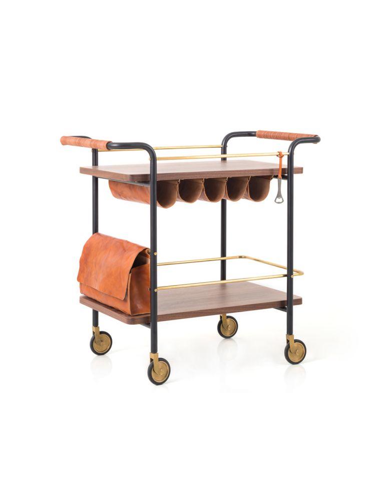 Valet Bar Cart by Stellar Works