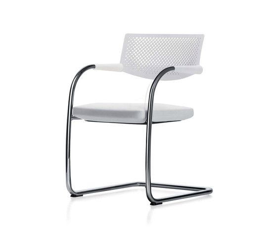 Visavis 2 Chair Non-Stacking by Vitra