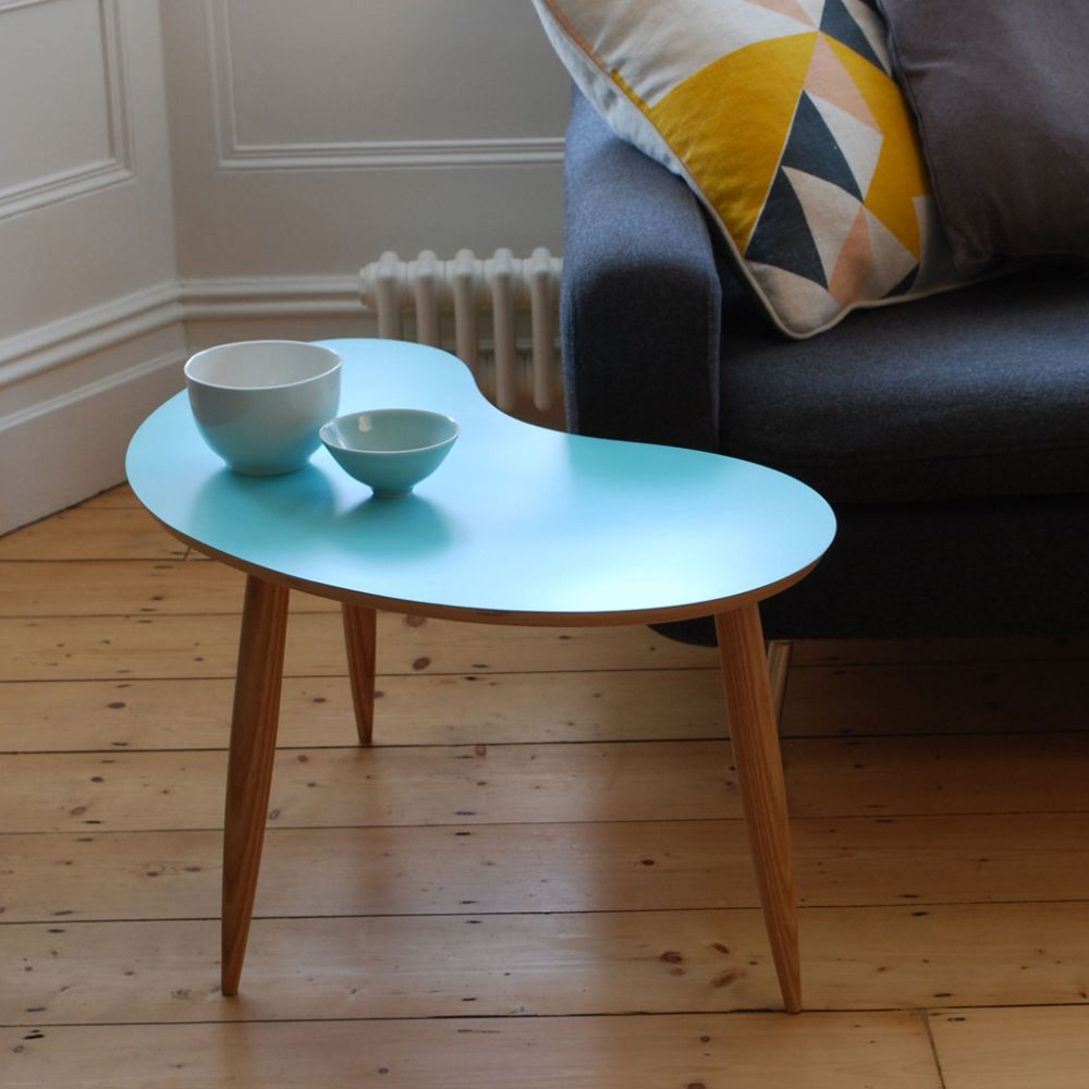 Bean table Aqua