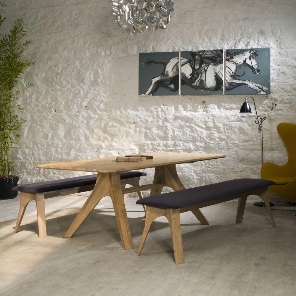 Veizla Table with 2 Veizla Benches