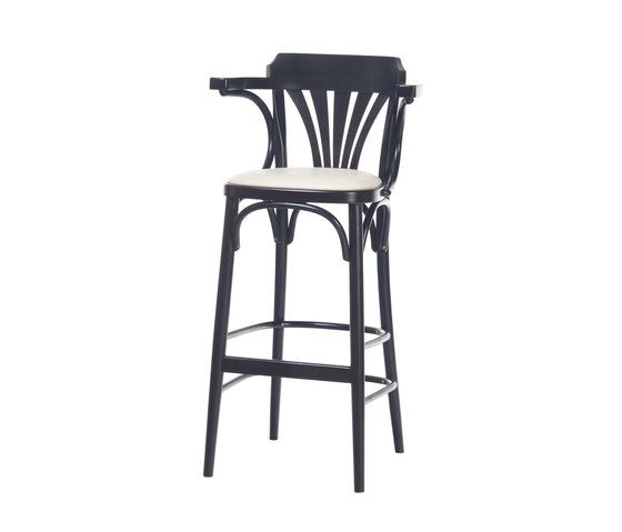 135 Barstool upholstered by TON by TON