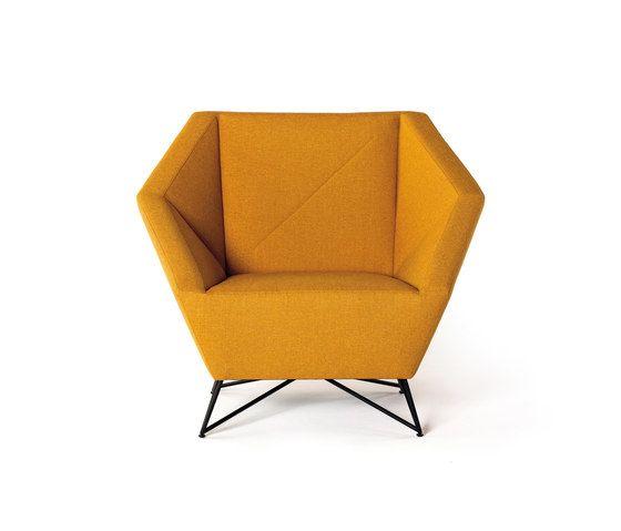 3angle armchair by Prostoria by Prostoria