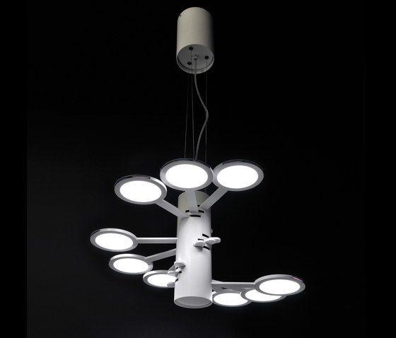 3x3 MACH 9 S – OLED-pendant by Bernd Unrecht lights by Bernd Unrecht lights