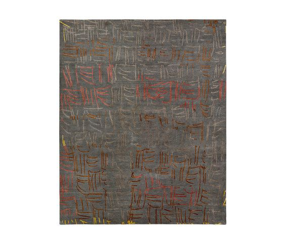 4-Minute Rug - Tally grey by REUBER HENNING by REUBER HENNING
