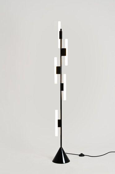 5 Tubes Floor lamp by Atelier Areti by Atelier Areti