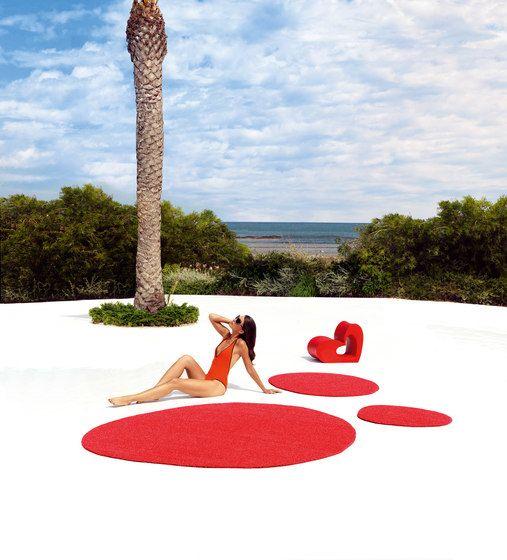 Agatha rug red by Vondom by Vondom