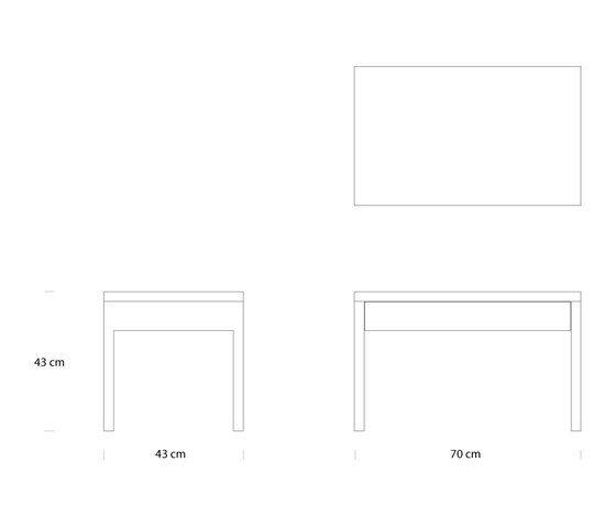 Alex Nightstand by ellenbergerdesign by ellenbergerdesign