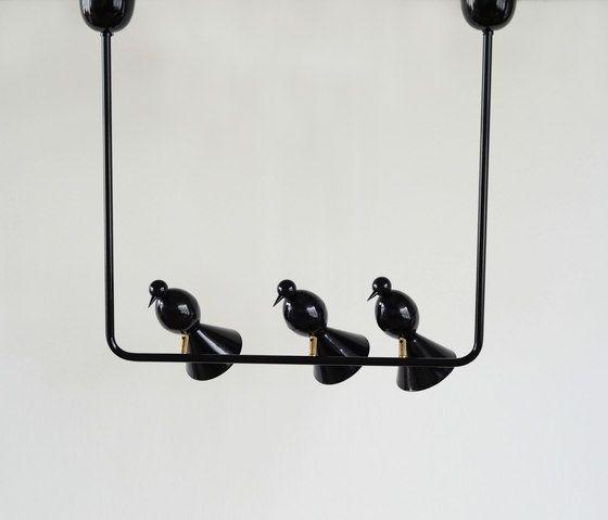Alouette Ceiling lamp | 3 birds U by Atelier Areti by Atelier Areti