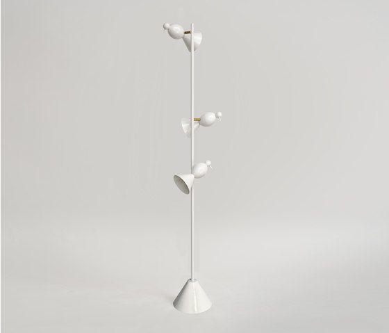 Alouette Standing lamp 3 birds by Atelier Areti by Atelier Areti
