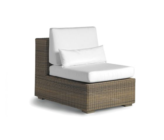 Aspen small middle seat by Manutti by Manutti