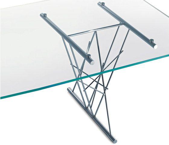 Avalon TR 220 glass table by Frag by Frag
