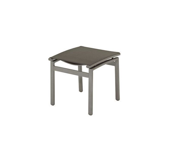 Azore Footstool by Gloster Furniture by Gloster Furniture