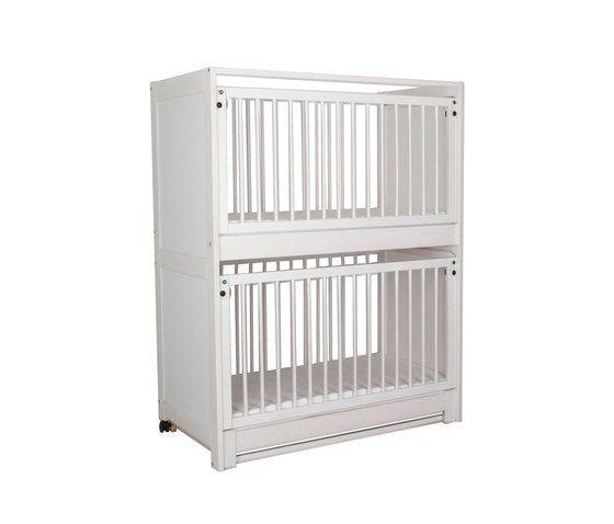 Baby Bunk Bed white DBF-162-10 by De Breuyn by De Breuyn