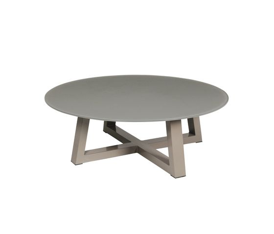 Baia lounge table Ø 120 cm (glass) by Mamagreen by Mamagreen