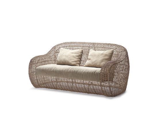 Balou Easy Loveseat by Kenneth Cobonpue by Kenneth Cobonpue