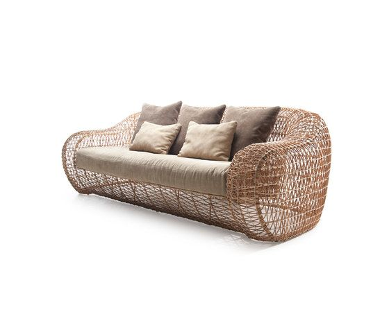 Balou Easy Sofa by Kenneth Cobonpue by Kenneth Cobonpue