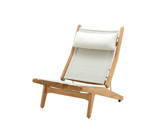 Bay Reclining Chair by Gloster Furniture by Gloster Furniture