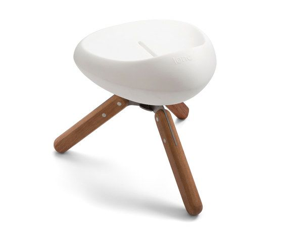 Beaser Wood 45, stool by Lonc by Lonc