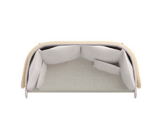 Beech Private Bench low by DUM by DUM