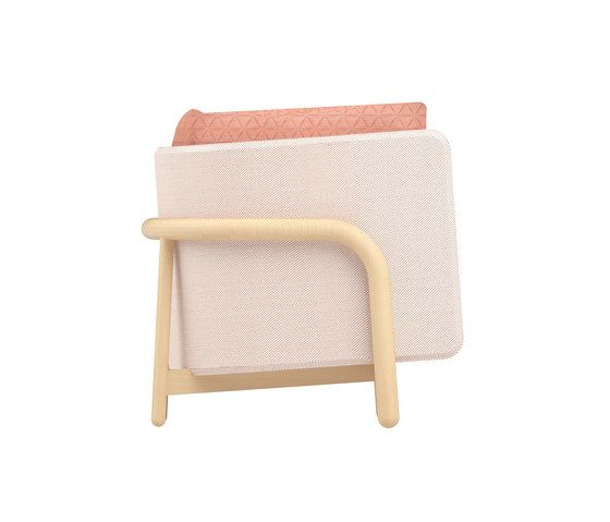 Beech Private Loveseat low by DUM by DUM