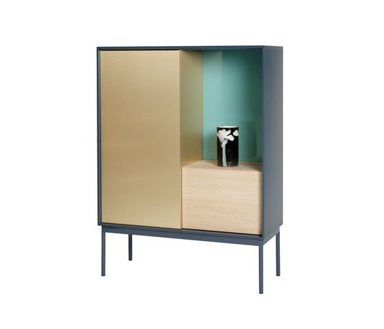 Besson Cabinet Deluxe deep blue by ASPLUND by ASPLUND