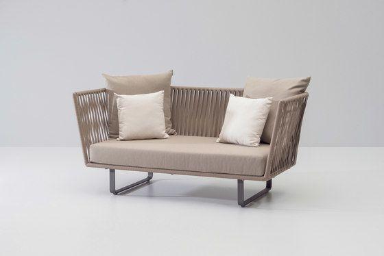 Bitta 2 seater sofa by KETTAL by KETTAL