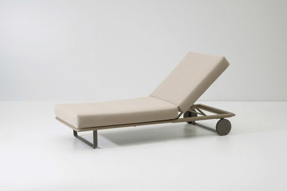 Bitta deckchair module by KETTAL by KETTAL