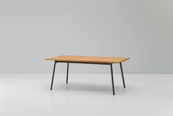 Bitta dining table extendable 6 guests by KETTAL by KETTAL