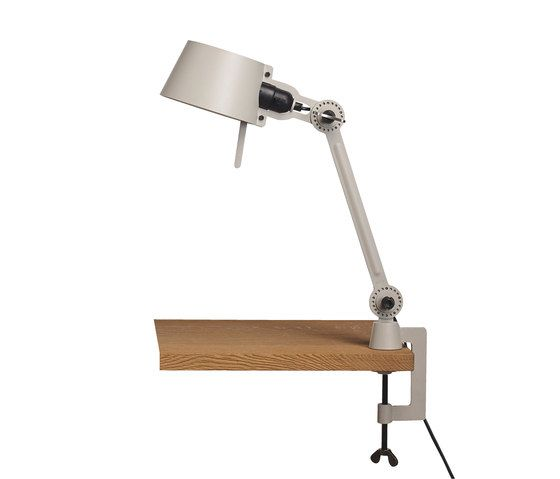 BOLT desk lamp - single arm - small - with clamp by Tonone by Tonone
