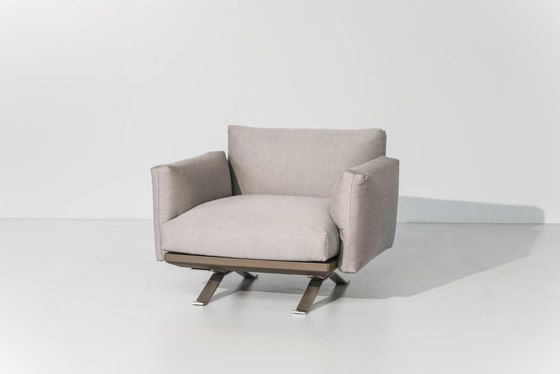 Boma club armchair by KETTAL by KETTAL