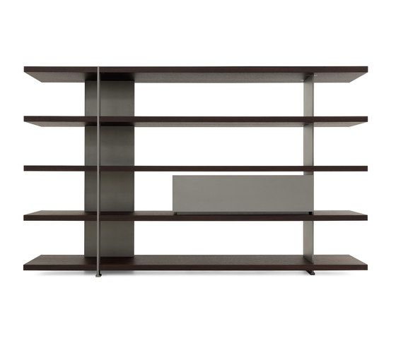 Bristol System Bookcase by Poliform by Poliform