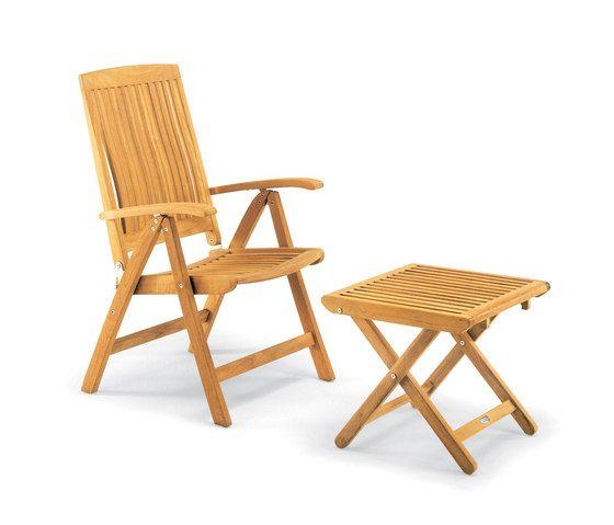 Burma armchair adjustable with footrest by Fischer Möbel by Fischer Möbel