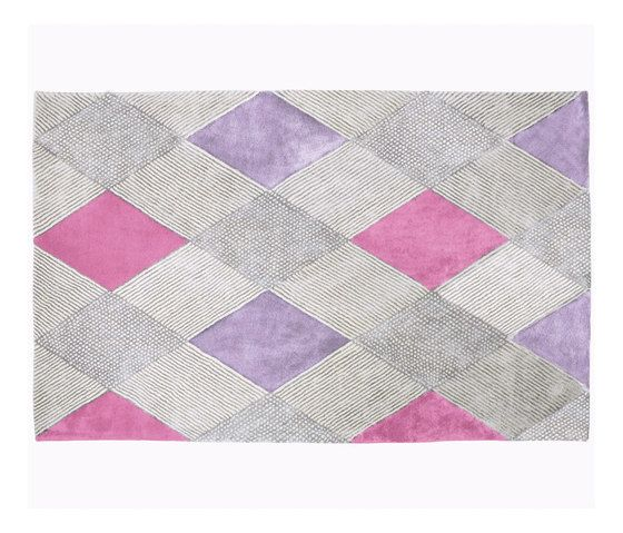 Castillon - Fuchsia - Rug by Designers Guild by Designers Guild