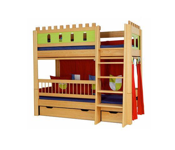 Castle loft game bed DBA-208 by De Breuyn by De Breuyn