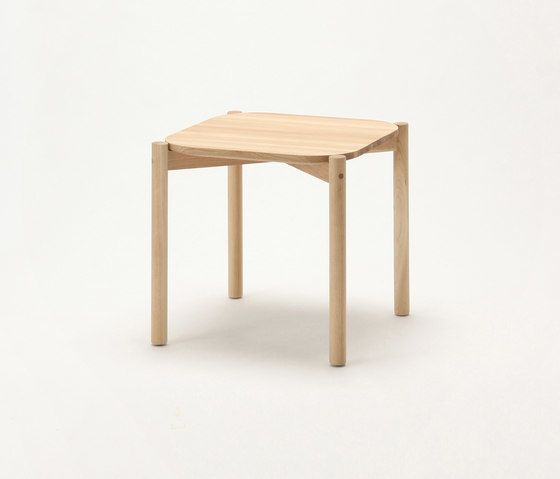 Castor Low Table 50 by Karimoku New Standard by Karimoku New Standard