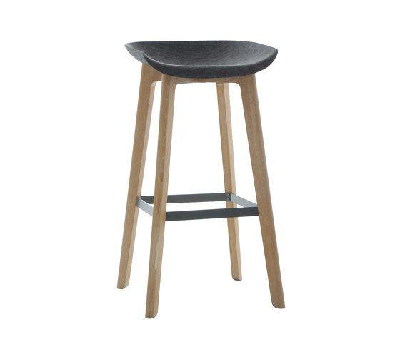 Chairman bar stool wood by Conmoto by Conmoto