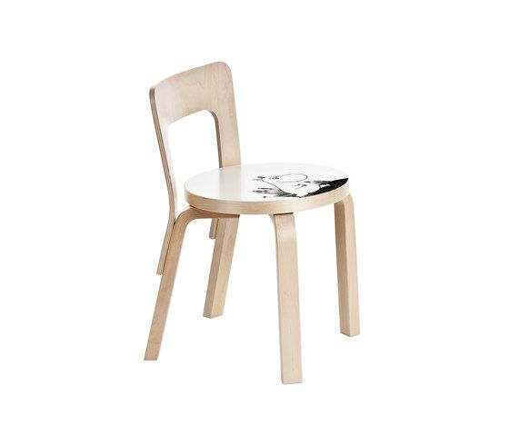 Children's Chair N65 | Moomintroll by Artek by Artek