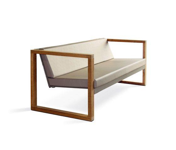 Cima Lounge Banca Teak by FueraDentro by FueraDentro
