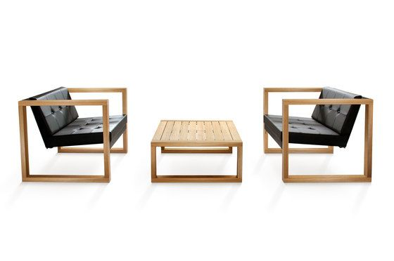 Cima Lounge Poltrona Teak by FueraDentro by FueraDentro