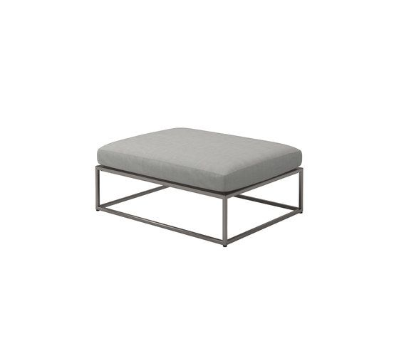 Cloud 75x100 Ottoman by Gloster Furniture by Gloster Furniture